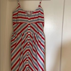 Dresses & Skirts - Red, white and blue summer dress